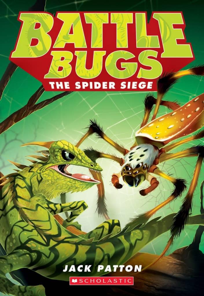 Battle Bugs 02 The Spider Siege