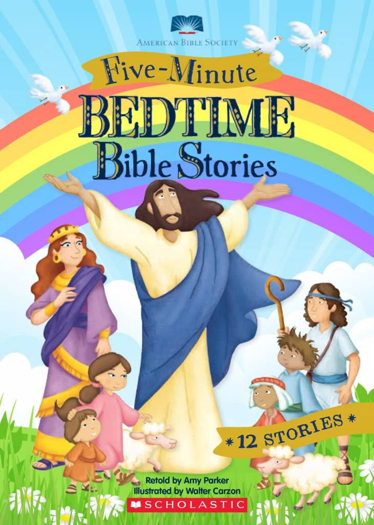 5 Minute Bedtime Bible Stories