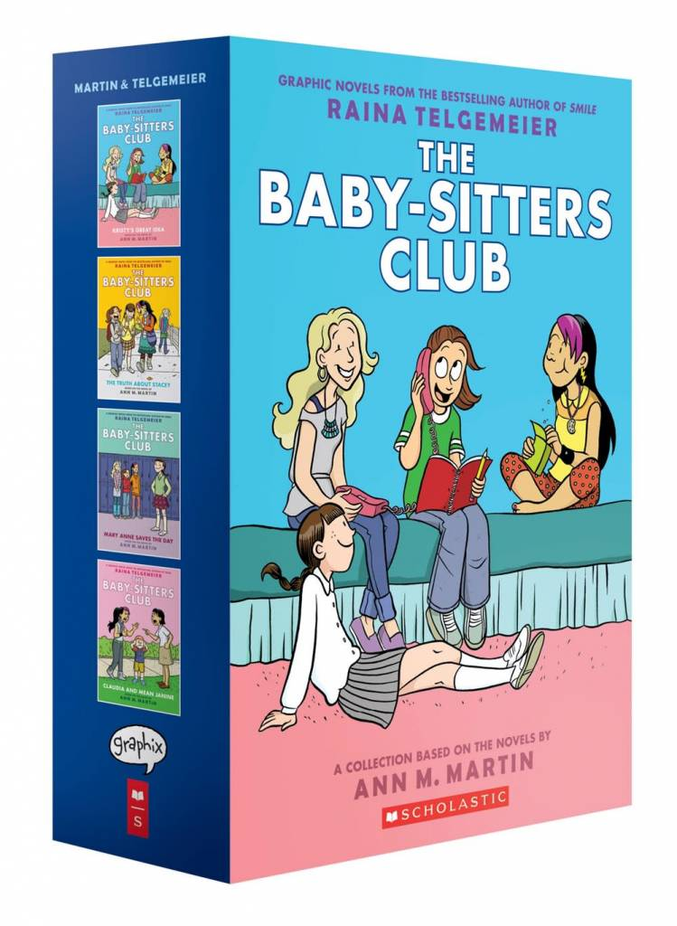 Baby-Sitters Club Graphix Boxed Set (#1-4)