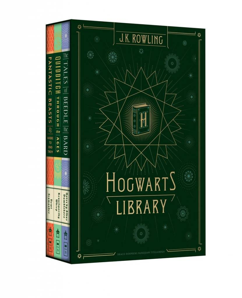 Arthur A. Levine Books Harry Potter: Hogwarts Library Boxed Set (3 Books)