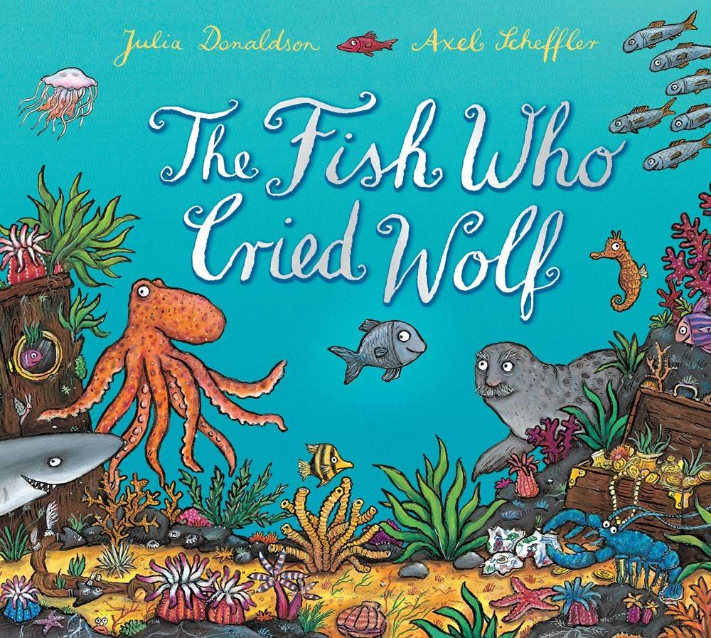 Arthur A. Levine Books The Fish Who Cried Wolf