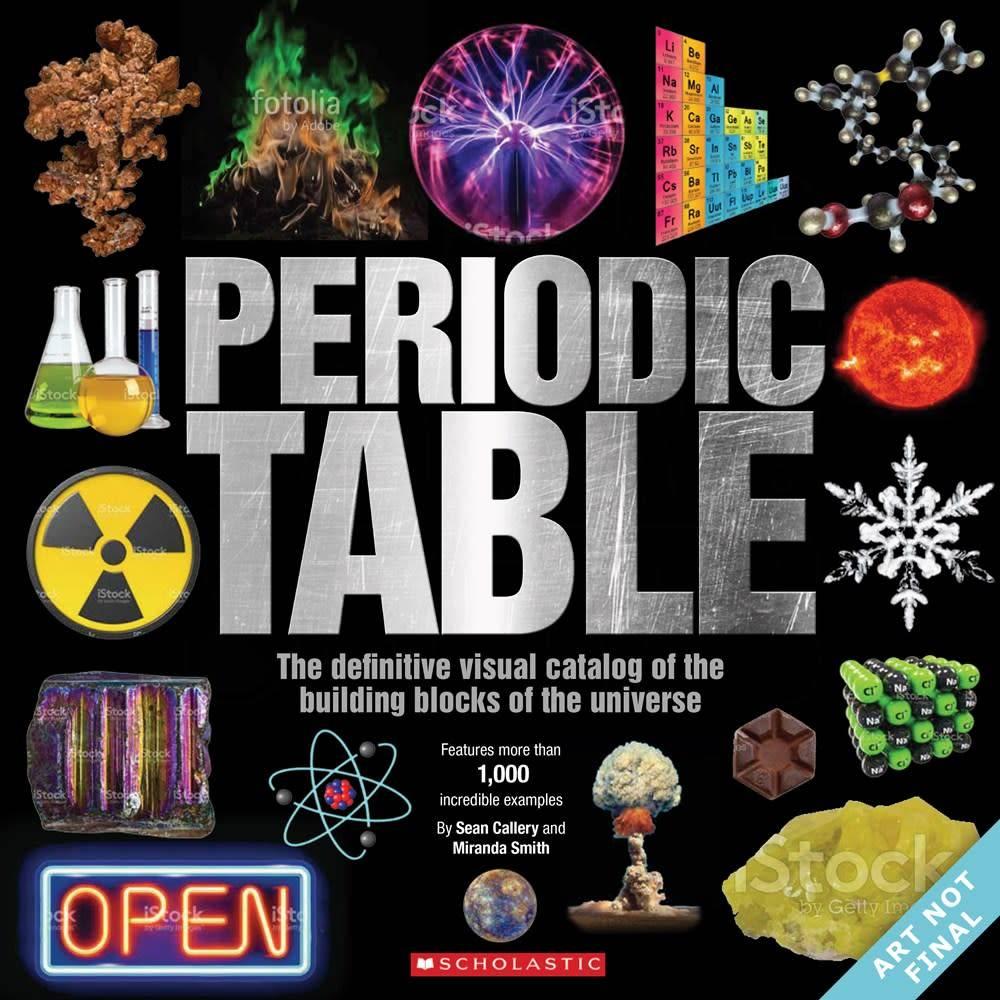 Scholastic nonfiction the periodic table definitive visual scholastic nonfiction the periodic table definitive visual catalog of urtaz Choice Image