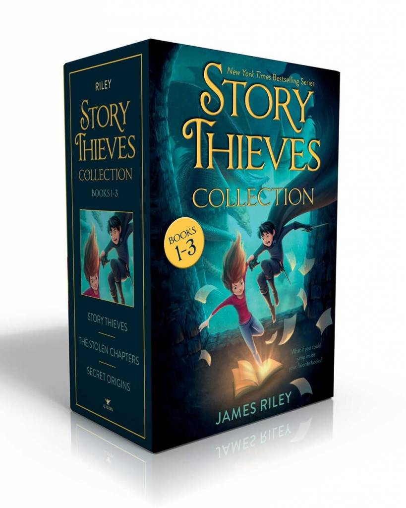 Aladdin Story Thieves Boxed Set (#1-3)