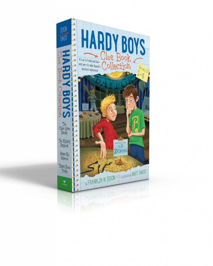 Aladdin Hardy Boys Clue Book Boxed Set (#1-4)