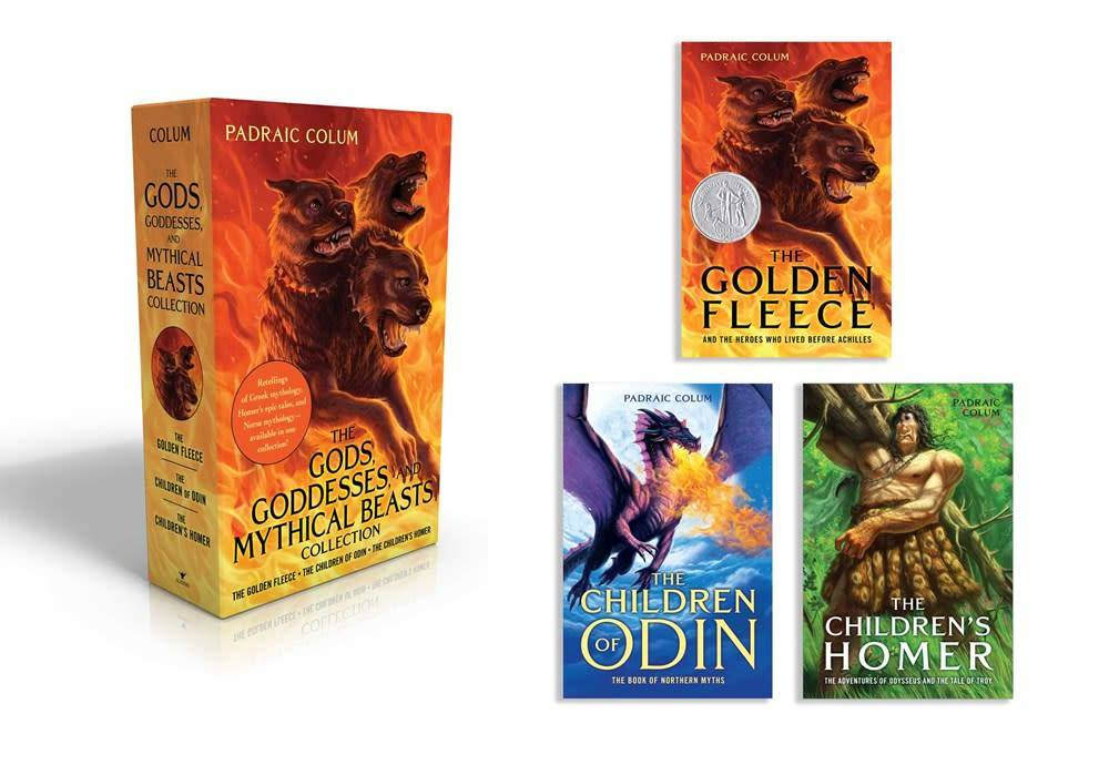Aladdin Gods, Goddesses, Mythical Beasts Boxed Set (3 Books)