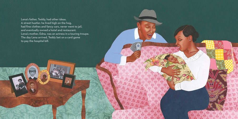 Atheneum Books for Young Readers The Legendary Miss Lena Horne