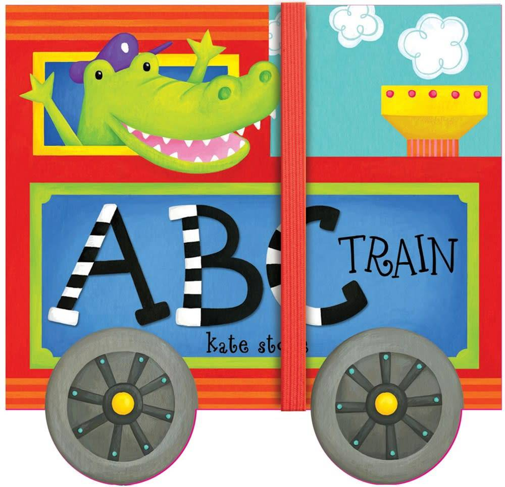 ABC Train (Fold-Out Board Book)