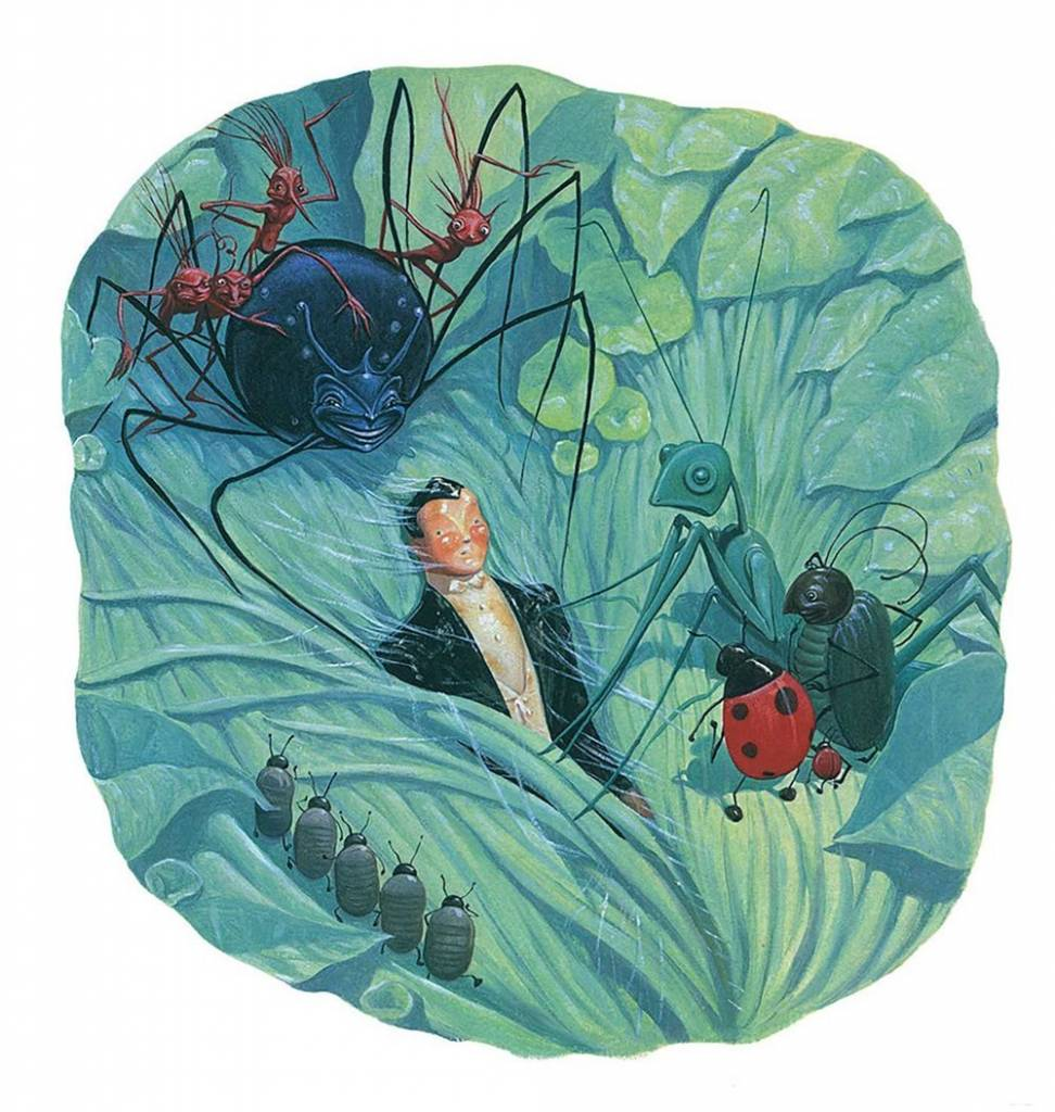 Atheneum Books for Young Readers The Leaf Men: And the Brave Good Bugs