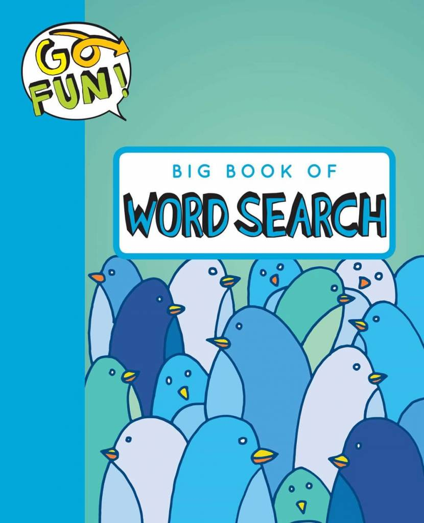 Andrews McMeel Publishing Go Fun: Big Book of Word Search