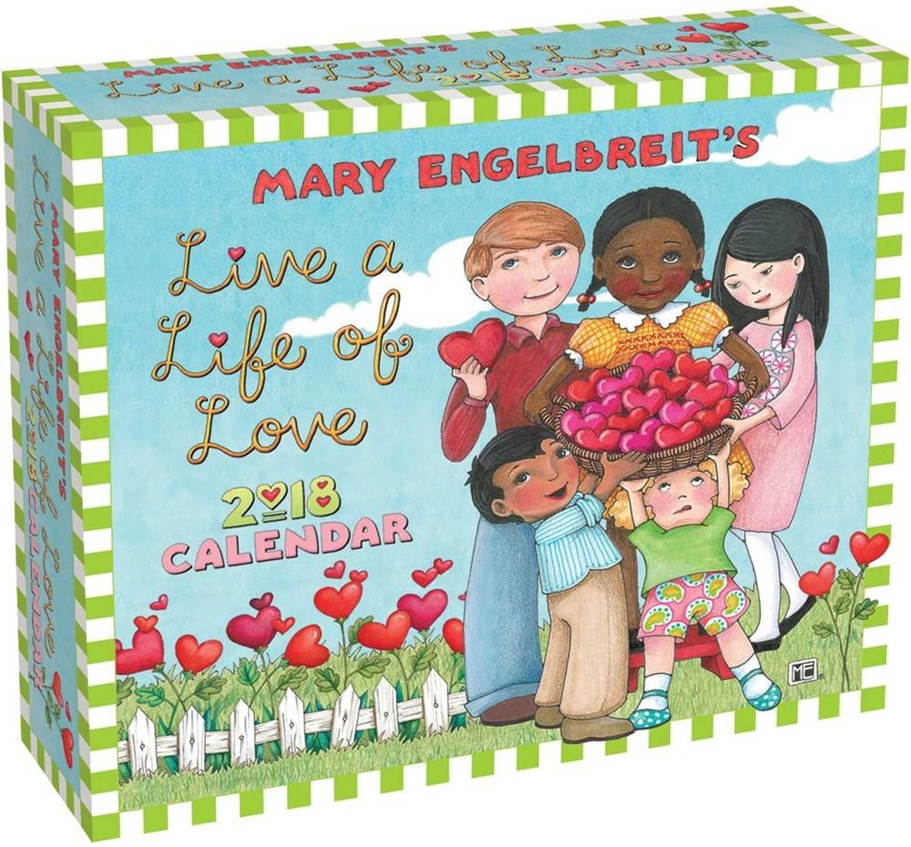 Andrews McMeel Publishing Mary Engelbreit Live a Life of Love (2018 Page-a-Day Calendar)
