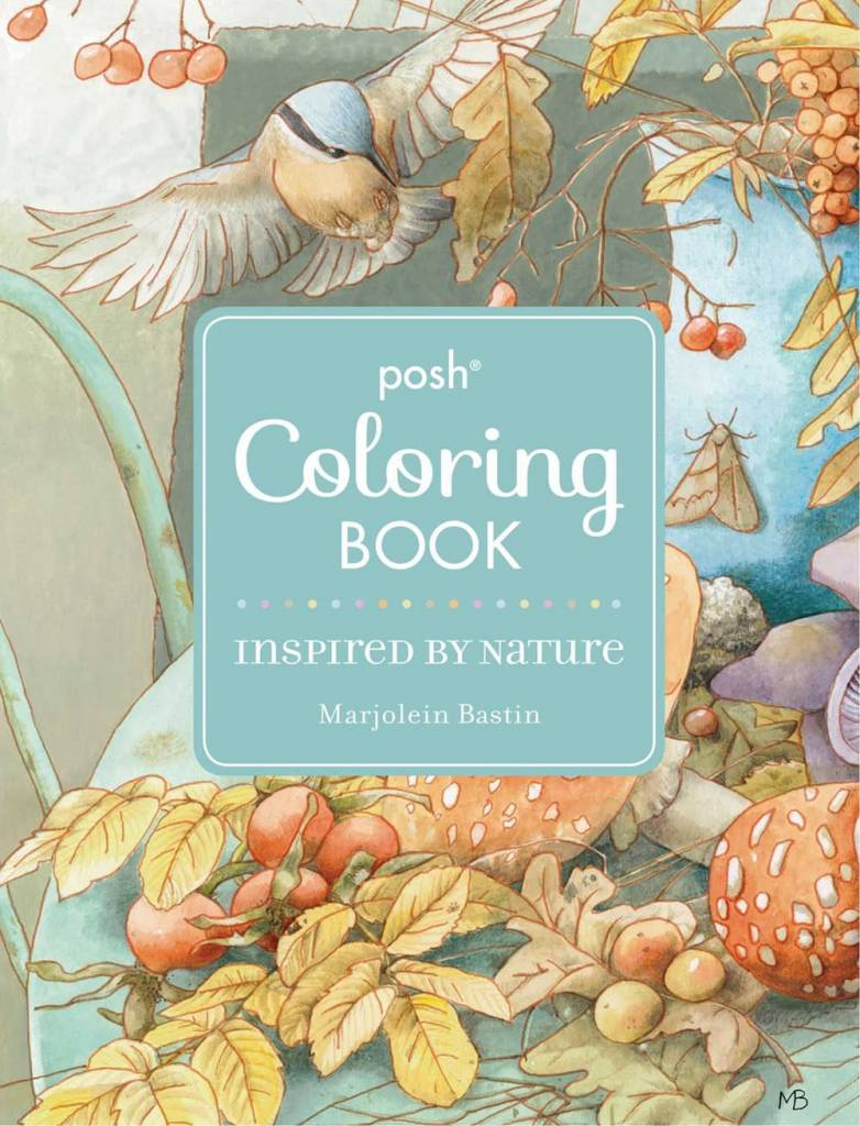 Andrews McMeel Publishing Posh Adult Coloring Book: Inspired by Nature