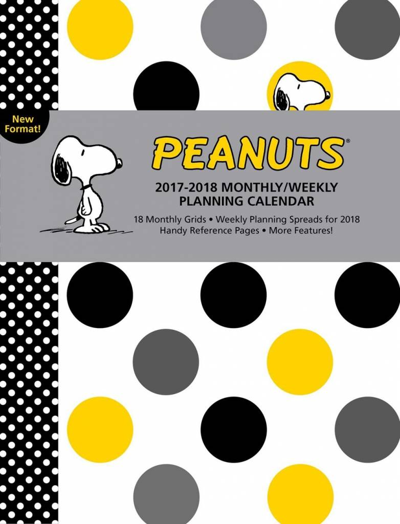 Andrews McMeel Publishing Peanuts (2017-2018 Monthly/Weekly Planning Calendar)