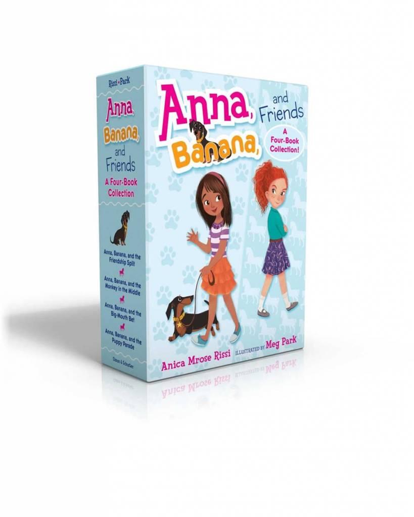 Anna, Banana, and Friends Boxed Set (#1-4)