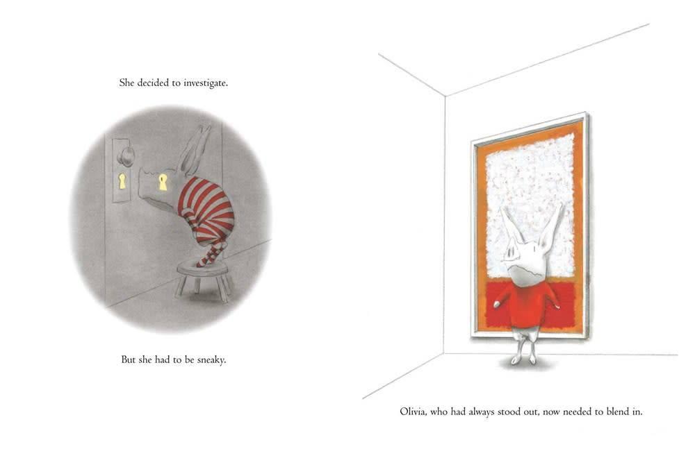 Atheneum/Caitlyn Dlouhy Books Olivia: The Spy