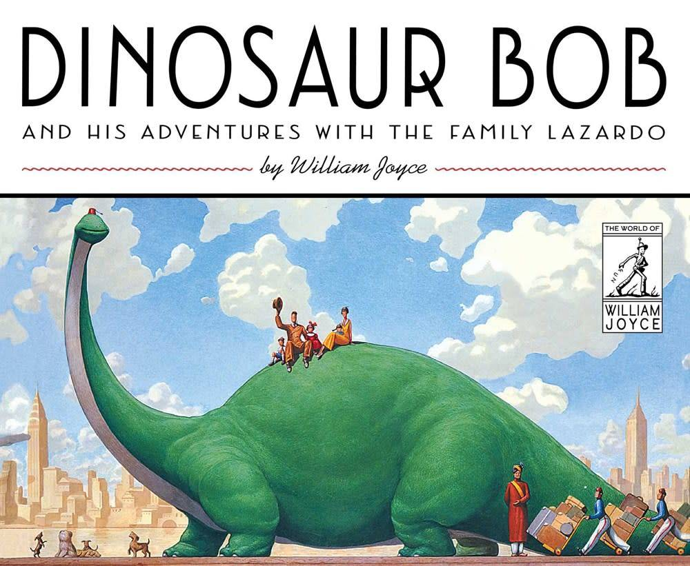 Atheneum Books for Young Readers Dinosaur Bob: Adventures with the Family Lazardo