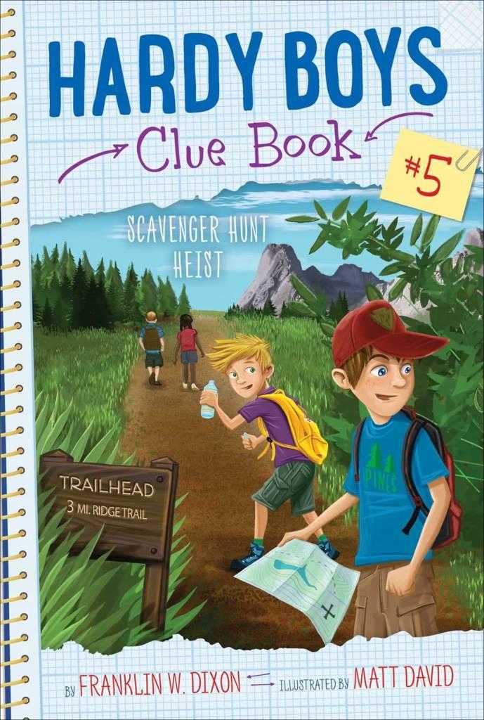 Aladdin Hardy Boys Clue Book 05 Scavenger Hunt Heist