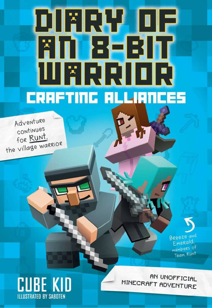 Andrews McMeel Publishing Minecraft: Diary of an 8-Bit Warrior 03 Crafting Alliances
