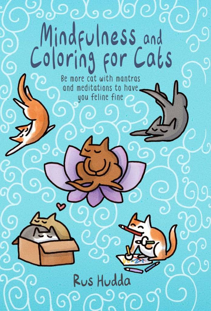 Ryland Peters Small Mindfulness And Coloring For Cats