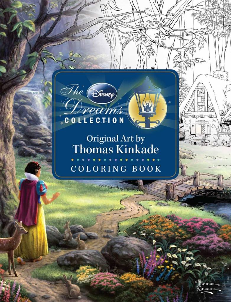 Andrews McMeel Publishing Disney Dreams: ...Thomas Kinkade Coloring Book