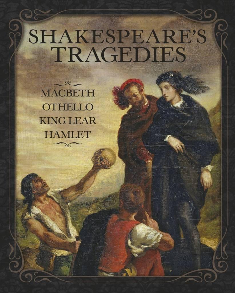 Arcturus Publishing Limited Shakespeare's Tragedies (4 Unabridged Plays, Slip-cased Ed.)