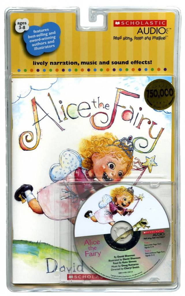 Alice the Fairy (Book and CD)