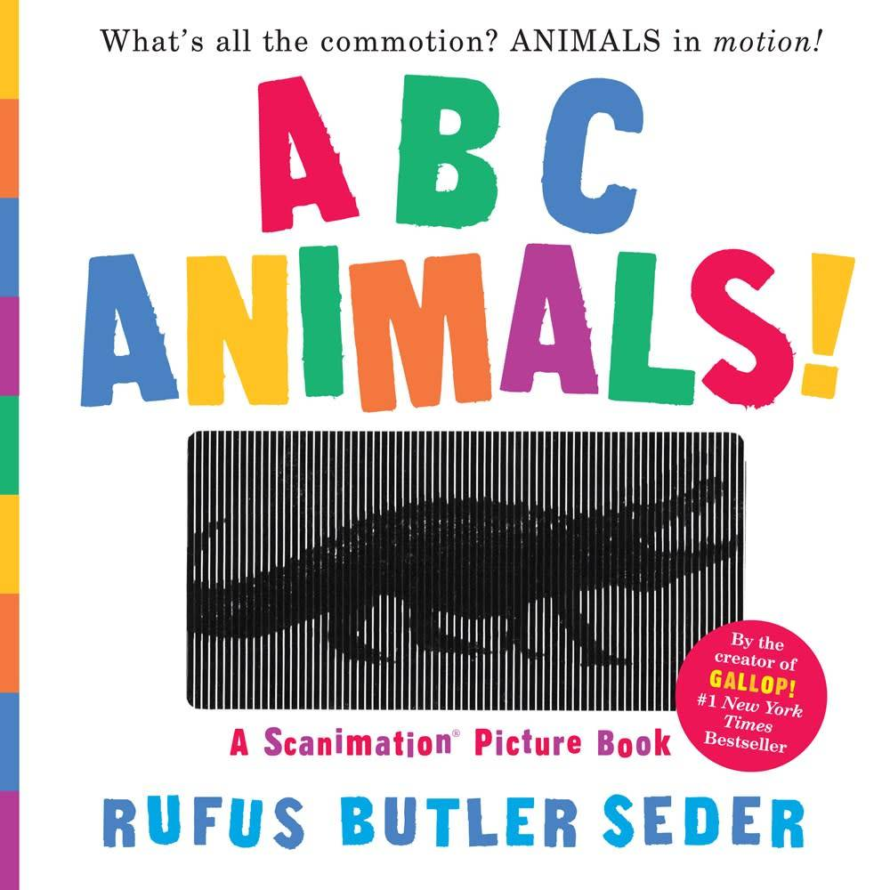 ABC Animals! A Scanimation