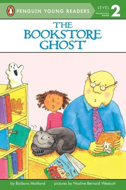 Penguin Young Readers The Bookstore Ghost (Penguin Readers, Lvl 2)