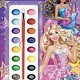 Barbie Rock 'N Royals: Dazzling Duet (Paint Box Book)