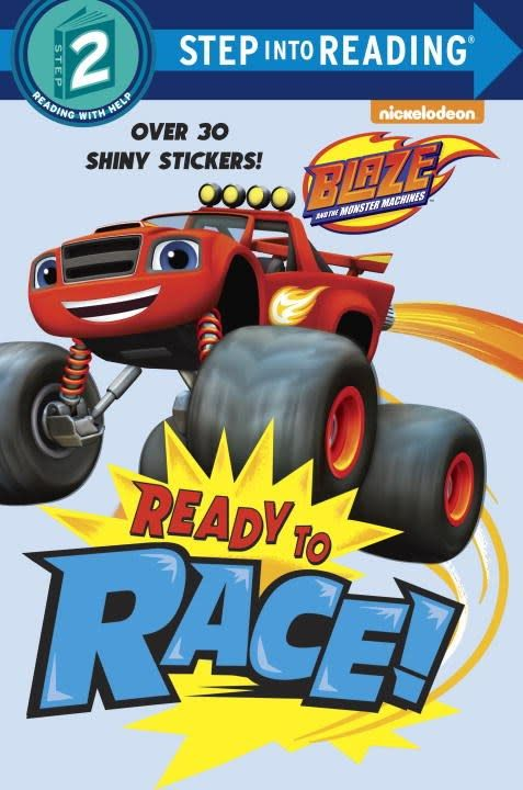 Blaze: Ready to Race (Step-into-Reading, Lvl 2)