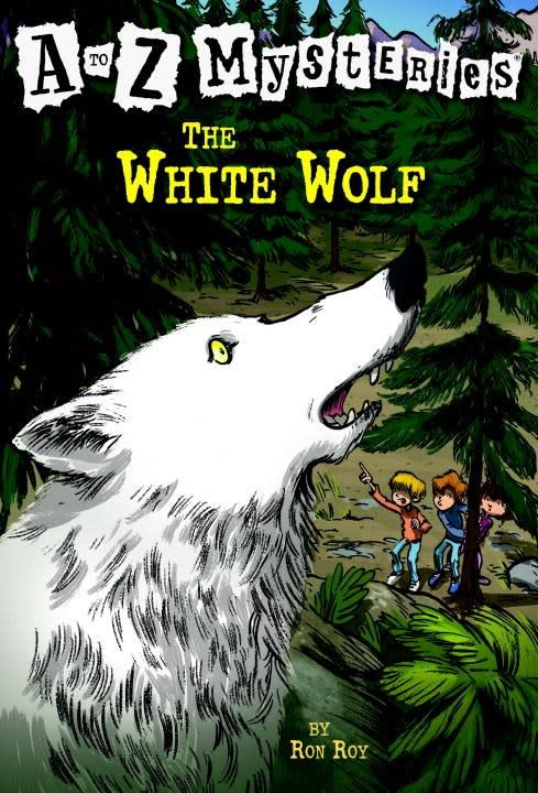 A to Z Mysteries 23 The White Wolf