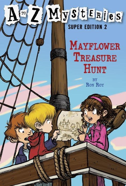 A to Z Mysteries (Super Ed.) 02 Mayflower... Hunt