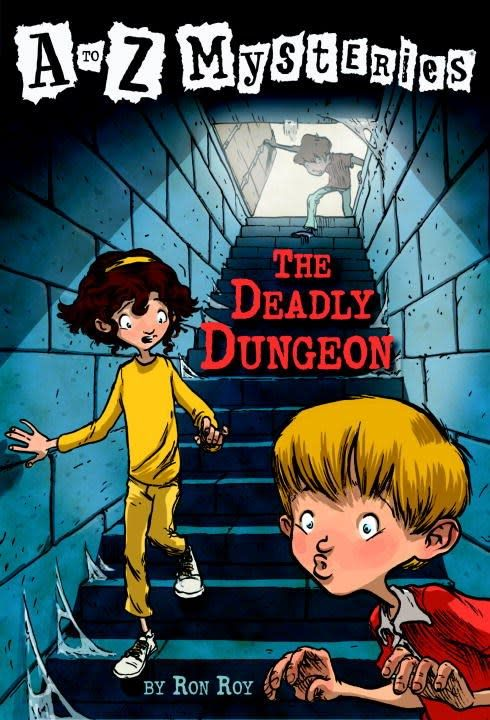A to Z Mysteries 04 The Deadly Dungeon