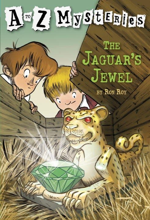 A to Z Mysteries 10 The Jaguar's Jewel