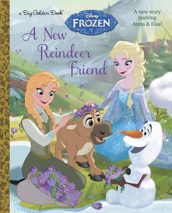 Big Golden Book: A New Reindeer Friend (Frozen)