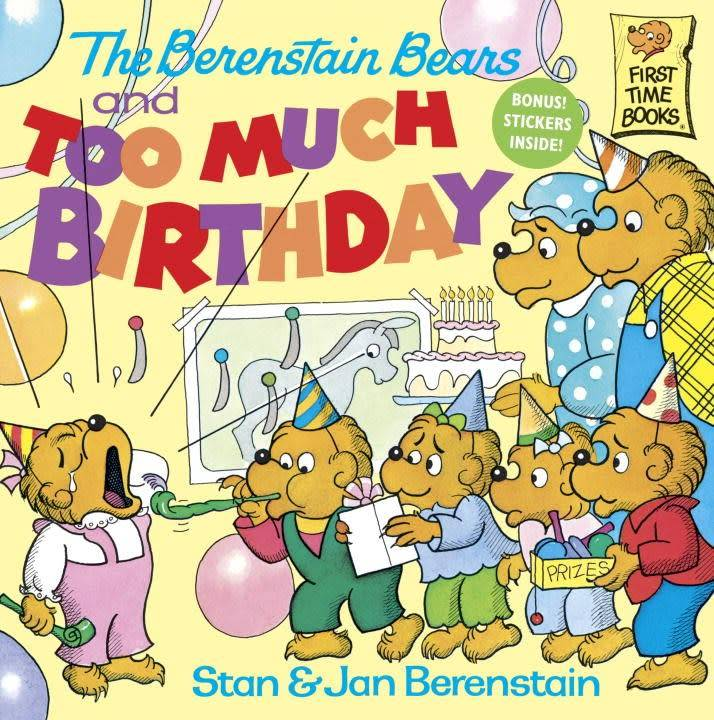 Random House Books for Young Readers Berenstain Bears: Too Much Birthday