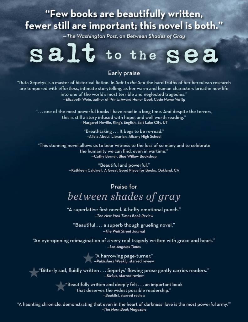 Philomel Books Salt to the Sea