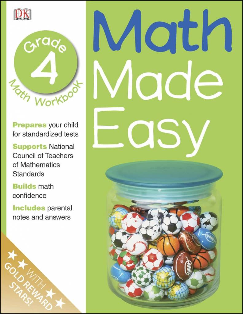 Math Made Easy: Grade 4: Math Workbook - Linden Tree Books