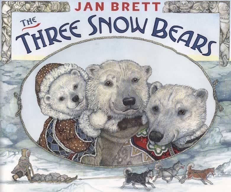3 Snow Bears Inuit Goldilocks