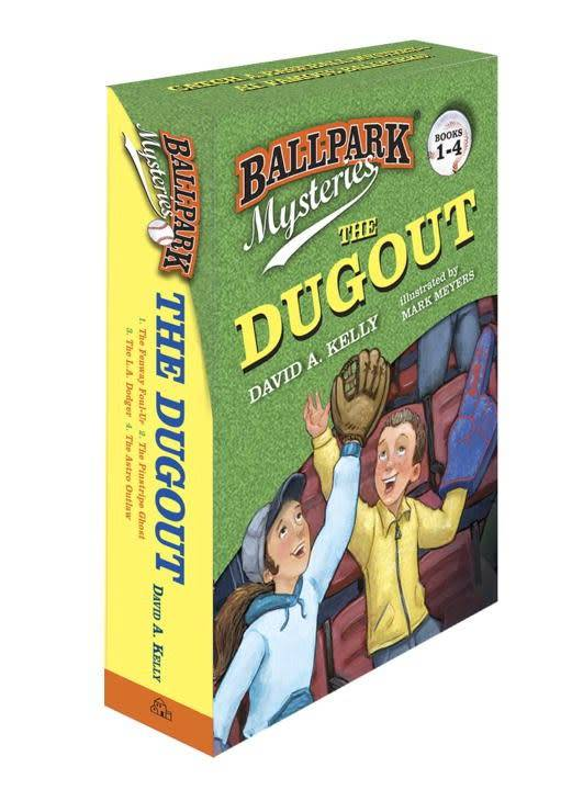Ballpark Mysteries The Dugout Boxed Set (#1-4)