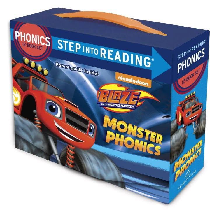 Blaze: Monster Phonics Boxed Set (Step-into-Reading, 12 Mini-Books)