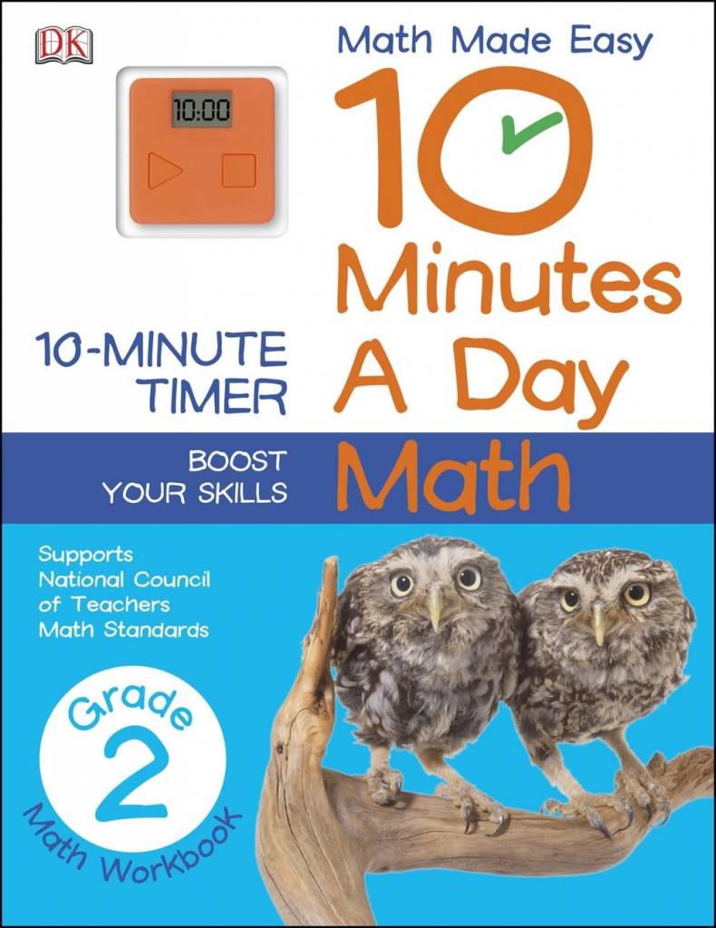 10 Minutes a Day: Grade 2: Math
