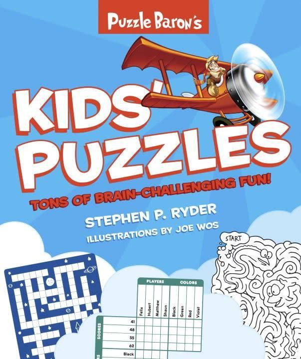 Alpha Puzzle Baron's Kids' Puzzles