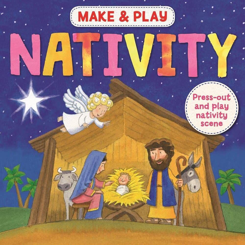 Arcturus Publishing Limited Make & Play: Nativity (Press-Out and Play Nativity Scene)