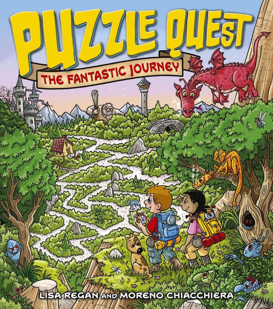 Arcturus Publishing Limited Puzzle Quest: The Fantastic Journey