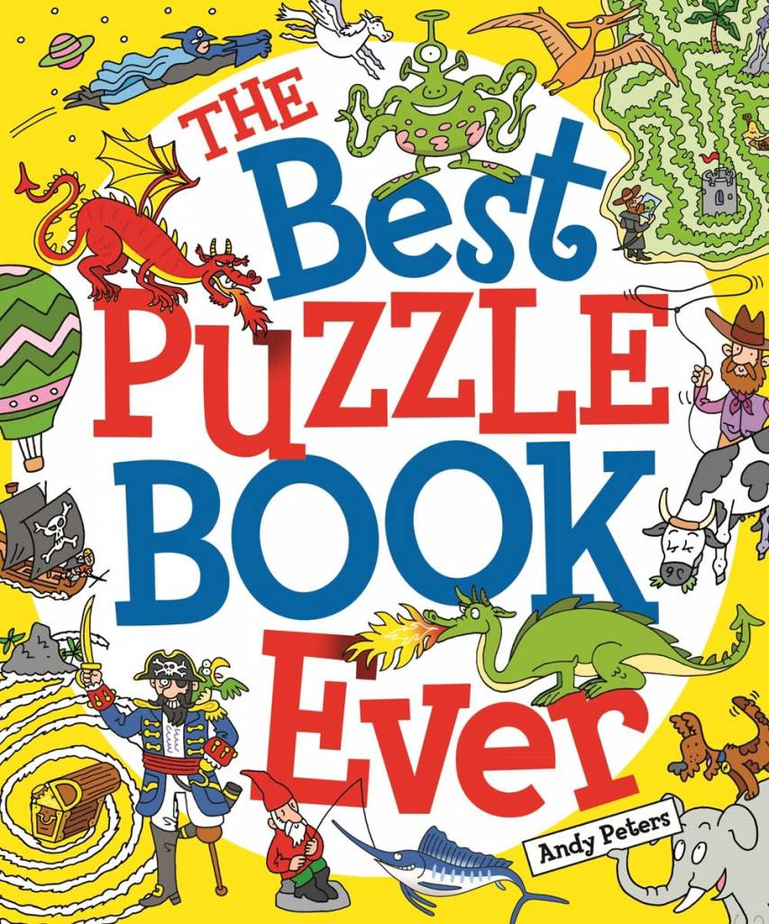 Arcturus Publishing Limited The Best Puzzle Book Ever