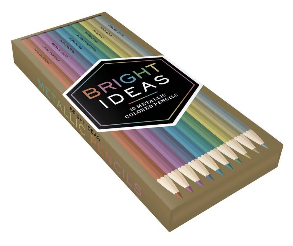 Bright Ideas: 10 Metallic Colored Pencils