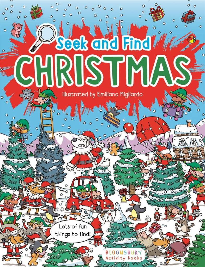 Bloomsbury Activity Books Seek and Find: Christmas