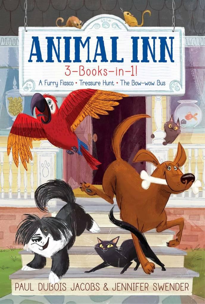 Aladdin Animal Inn 3-Books-in-1!