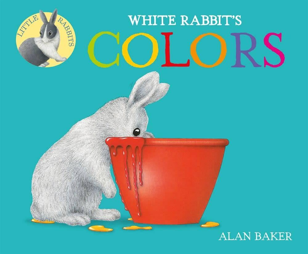 Little Rabbit Books: White Rabbit\'s Colors - Linden Tree Books