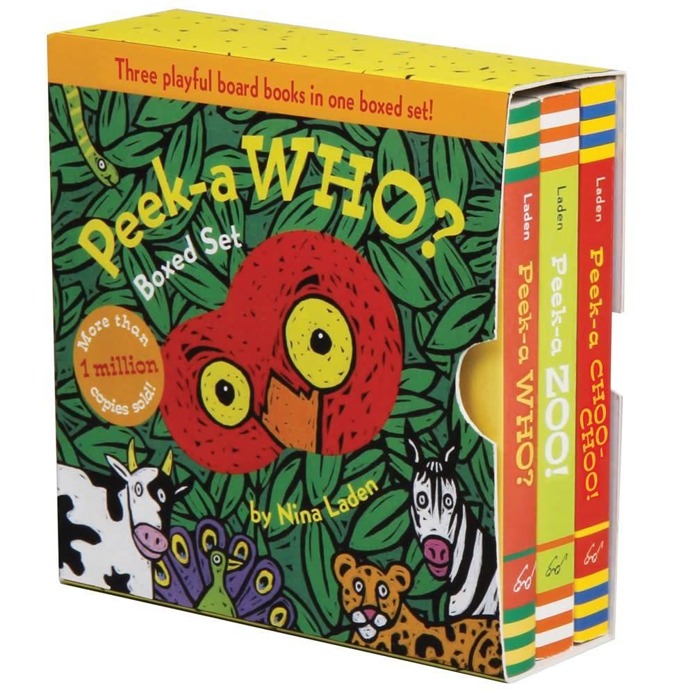 Chronicle Books Peek-a Who? Boxed Set